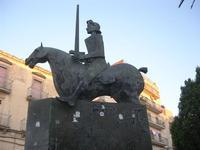 monumento equestre - 4 dicembre 2010 CALTAGIRONE LIDIA NAVARRA