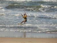 Zona Canalotto - kitesurf - 8 ottobre 2011  - Alcamo marina (1098 clic)