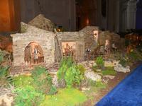 Il Presepe animato in terracotta nella Chiesa del Carmine - 4 dicembre 2010  - Caltagirone (1450 clic)