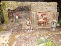 Il Presepe animato in terracotta nella Chiesa del Carmine - 4 dicembre 2010  - Caltagirone (1501 clic)