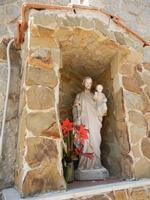 edicola votiva dedicata a S. Giuseppe - 8 maggio 2011 TERRASINI LIDIA NAVARRA