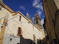 facciata laterale, cupola e campanile della Chiesa Santa Maria del Monte - 4 dicembre 2010 CALTAGIRO