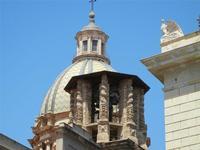 cupola della Chiesa di San Giuseppe dei Teatini - 8 agosto 2011 PALERMO LIDIA NAVARRA