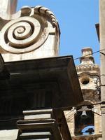 Chiesa di San Matteo al Cassaro, sul Corso Vittorio Emanuele - particolare architettonico e campanil