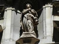 Chiesa Chiesa di San Matteo al Cassaro, sul Corso Vittorio Emanuele - particolare architettonico: st