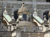 Piazza Pretoria - particolare architettonico della Chiesa di San Giuseppe dei Teatini - 8 agosto 201