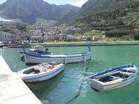 la città vista dal porto - 21 febbraio 2010   - Castellammare del golfo (1580 clic)