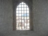 Castello medievale - finestra - 21 marzo 2010   - Caccamo (6008 clic)
