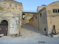 Scalinata Porta Marina - 22 gennaio 2010  - Castellammare del golfo (1787 clic)