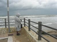 Spiaggia Plaja - mare in tempesta - 21 gennaio 2010  - Castellammare del golfo (2721 clic)
