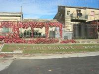 Giardino Pubblico Vittorio Emanuele - la composizione della data all'ingresso - 5 dicembre 2010 CALT