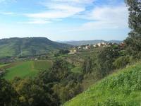 panorama agreste - 5 dicembre 2010  - Caltagirone (2107 clic)