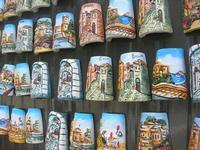 souvenir - mini tegole decorate - 5 aprile 2010  - Erice (15205 clic)
