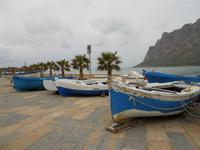 barche in secca - Monte Cofano - 17 gennaio 2010   - Cornino (3041 clic)