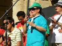 Spettacolo multietnico UNA SOLA FAMIGLIA UMANA nel cortile del Collegio dei Gesuiti - 19 giugno 2011  - Sciacca (577 clic)
