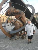 Piazza Carlo Maria Carafa - Meridiana - particolare - 5 dicembre 2010  - Grammichele (2427 clic)