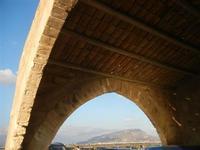 particolare Museo del Sale e Monte Erice all'orizzonte - 13 novembre 2011   - Nubia (1768 clic)