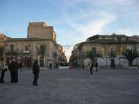 Piazza Carlo Maria Carafa - 5 dicembre 2010  - Grammichele (2860 clic)