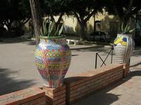 giare decorate nel giardino pubblico - 19 settembre 2010  - Mazara del vallo (5405 clic)