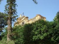 dal giardino sul Lungomare Mazzini la Cattedrale SS. Salvatore - 19 settembre 2010  - Mazara del vallo (1269 clic)