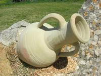 anfora - C.da Margana - Baglio Segesta - 10 aprile 2011  - Calatafimi segesta (1314 clic)