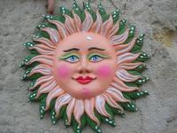 il sole in ceramica - 14 novembre 2010  - Scopello (1880 clic)