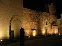 Castello dei Conti di Modica - lato est - 14 novembre 2010 ALCAMO LIDIA NAVARRA