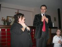 Presentazione del Connubio RizzoMani - Parole in Musica - Francesco Gallina e Donatella Piras - presso la Sala Convegni dell'Istituto Suore Francescane S. Chiara - 24 aprile 2010  - Corleone (3133 clic)