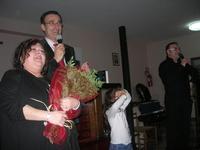 Presentazione del Connubio RizzoMani - Parole in Musica - Francesco Gallina e Donatella Piras - presso la Sala Convegni dell'Istituto Suore Francescane S. Chiara - 24 aprile 2010  - Corleone (3075 clic)