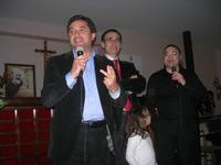 Presentazione del Connubio RizzoMani - Parole in Musica - Francesco Gallina e Donatella Piras - presso la Sala Convegni dell'Istituto Suore Francescane S. Chiara - 24 aprile 2010  - Corleone (3124 clic)