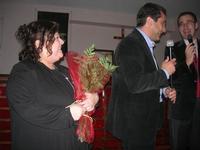 Presentazione del Connubio RizzoMani - Parole in Musica - Francesco Gallina e Donatella Piras - presso la Sala Convegni dell'Istituto Suore Francescane S. Chiara - 24 aprile 2010  - Corleone (4258 clic)