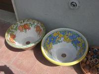 Piazza dei Caduti - ceramiche - artigianato locale - 21 marzo 2010  - Caccamo (3452 clic)