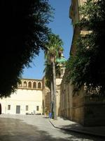 Cattedrale - facciata laterale, cupola e arcata detta tocchetto - 19 settembre 2010  - Mazara del vallo (1289 clic)