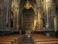Santuario Maria SS. di Custonaci - interno - 5 settembre 2010  - Custonaci (1323 clic)