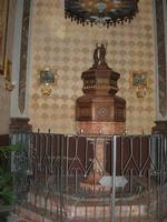 Santuario Maria SS. di Custonaci - interno - fonte battesimale - 5 settembre 2010  - Custonaci (1349 clic)