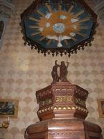 Santuario Maria SS. di Custonaci - interno - fonte battesimale - 5 settembre 2010  - Custonaci (1403 clic)