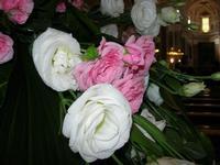 composizione di rose - Basilica Maria SS. Assunta - 26 giugno 2010  - Alcamo (1754 clic)