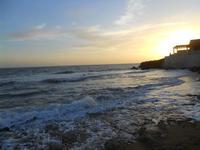 il mare all'imbrunire - 28 febbraio 2010  - Torretta granitola (3416 clic)