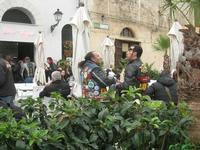 Via Don L. Zangara - 2° MOTORADUNO CITTA' DI CARINI - sosta al Bar Vogue - 28 novembre 2010  - Castellammare del golfo (1345 clic)