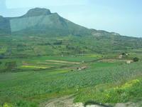 panorama del territorio - campi e monti - 21 marzo 2010  - Cerda (4222 clic)