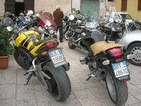 Via Don L. Zangara - 2° MOTORADUNO CITTA' DI CARINI - sosta al Bar Vogue - 28 novembre 2010  - Castellammare del golfo (1402 clic)