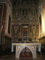 Santuario Maria SS. di Custonaci - interno - 5 settembre 2010  - Custonaci (1348 clic)
