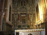 Santuario Maria SS. di Custonaci - interno - 5 settembre 2010  - Custonaci (1355 clic)