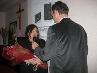 Presentazione del Connubio RizzoMani - Parole in Musica - Francesco Gallina e Donatella Piras - presso la Sala Convegni dell'Istituto Suore Francescane S. Chiara - 24 aprile 2010  - Corleone (5729 clic)