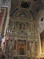 Santuario Maria SS. di Custonaci - interno - 5 settembre 2010  - Custonaci (1404 clic)