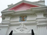 C/da Matarocco - edicola votiva al centro della piazzetta - particolare - 10 ottobre 2010  - Marsala (1120 clic)
