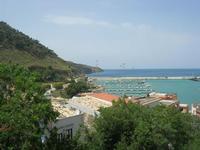Villa Comunale - panorama sul porto - 11 maggio 2010  - Castellammare del golfo (1502 clic)