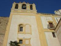 Santuario Maria SS. di Custonaci - facciata laterale e campane - 5 settembre 2010  - Custonaci (1347 clic)