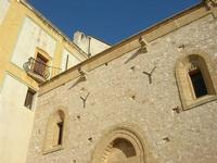 Santuario Maria SS. di Custonaci - facciata laterale - 5 settembre 2010  - Custonaci (1397 clic)
