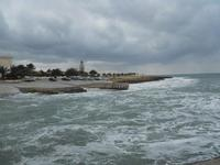 porticciolo - mare in burrasca - 7 febbraio 2010  - Cornino (1722 clic)